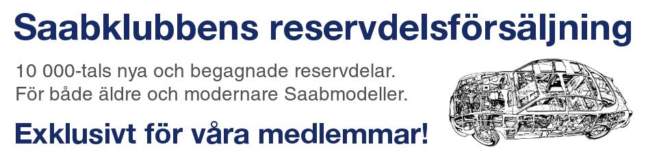 Saab reservdelar hos Saabklubben