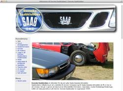Saabklubbens gamla hemsida
