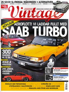 Saab Turbo i Vintage