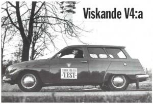 Världens första eldrivna Saab?