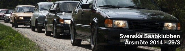 Svenska Saabklubben årsmöte 2014
