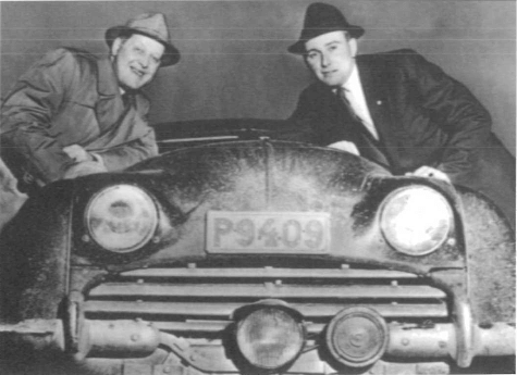 Rikspokalen 1955 blev det stora genombrottet för Erik, som efter 80 mil på hala och isiga vägar tog hem totalsegern tillsammans med kartläsaren Sten Helm.