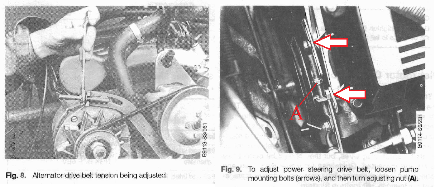 Saab_900og_Service-Manual_Withdrawal_-_Belt_change