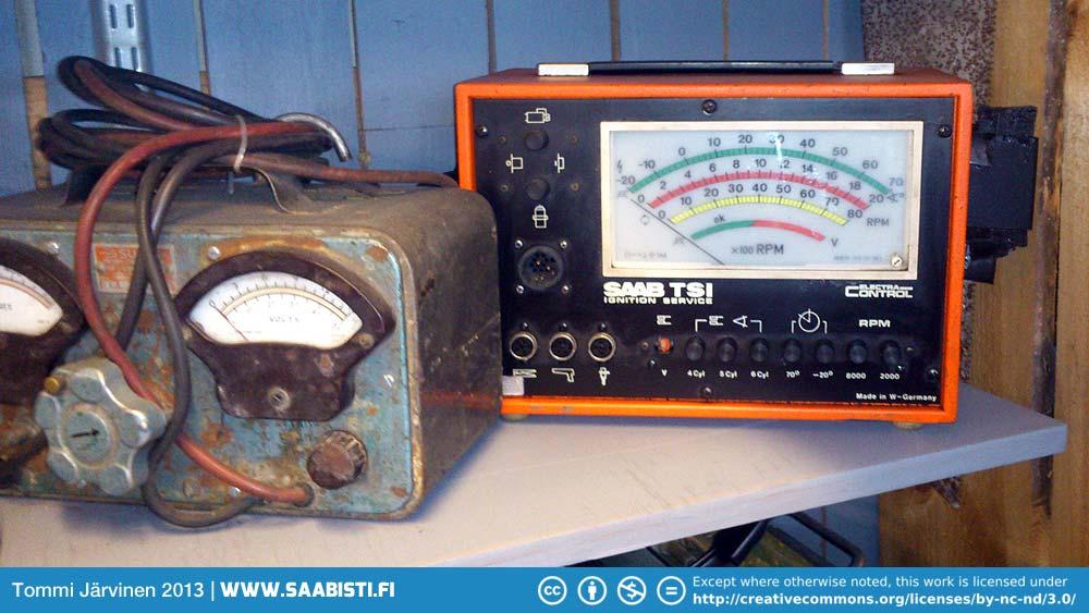 Saab-TSI-tester