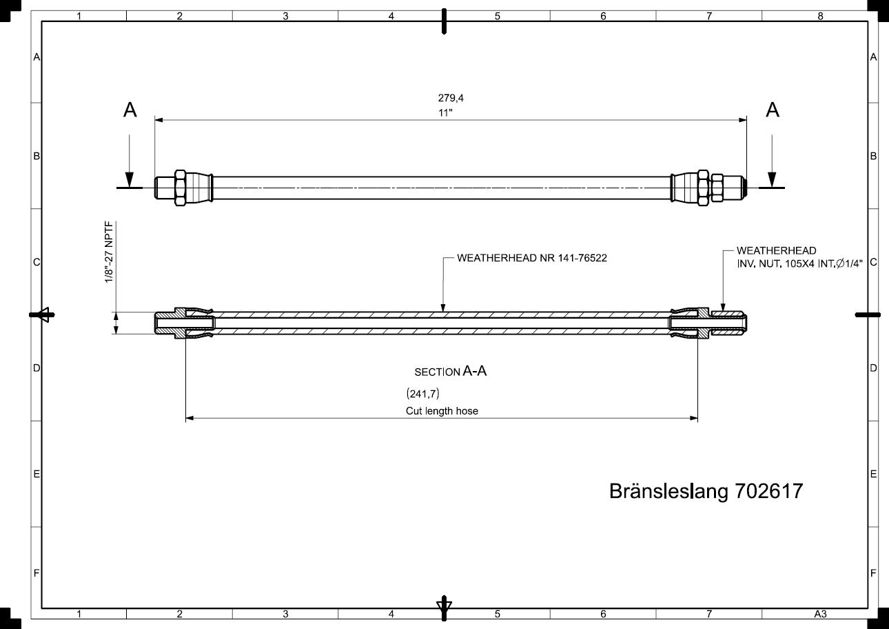 Bränsleslang-702617